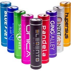 Cylinder Power Bank (2600 mAh)