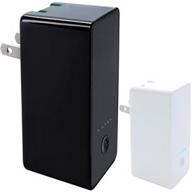 Portable Plug Power Bank Wall Charger 2500 mAh