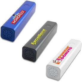 Power Bank with Bluetooth Speaker (2200 mAh)