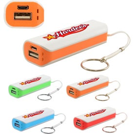 Power Bank 2200mAh with Keychain