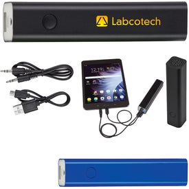 Power Bank with Speaker (2200 mAh, UL Listed)