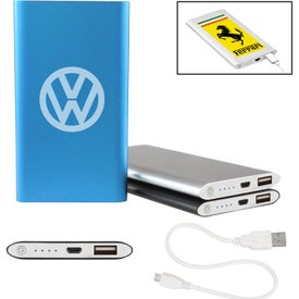 Sybil Slim Power Bank (4000 mAh, UL Listed)
