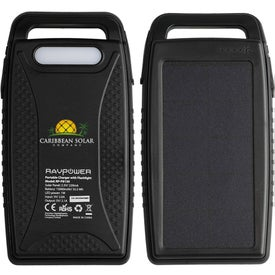 Tribune RAVPower Outdoor Solar Mega Power Bank (15000 mAh)