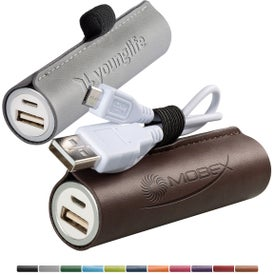 Tuscany Cylinder Power Bank (2200 mAh, UL Listed)