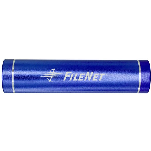 Blue UL Cylinder Power Bank