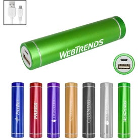 UL Cylinder Power Bank