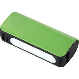 UL Listed Helical Flashlight Power Bank
