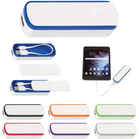UL Listed Power Bank With Cable Storage