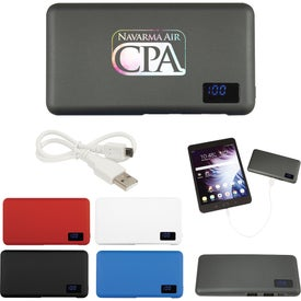 UL Listed Robust Power Bank with Digital Display
