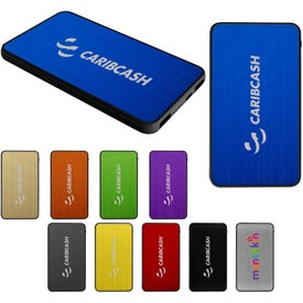 Plus Tablet Power Bank (6000 mAh, UL Listed)