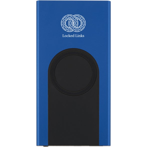 Blue / Black Wireless Power Bank