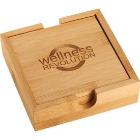 Bamboo Coaster Sets (4.5