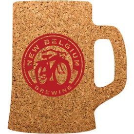 "Beer Mug Cork Coaster (3.5"" x 4"" x 0.125"")"