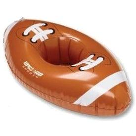 "Inflatable 11"" Football Beverage Coaster"
