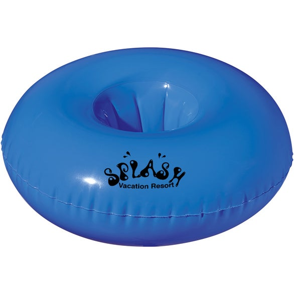 Blue Inflatable Beverage Float