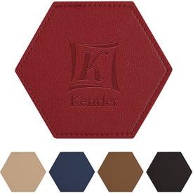 Leatherette Coaster