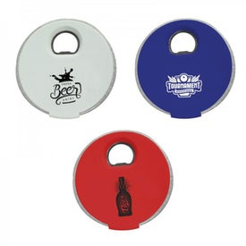 Lighten Up Coaster and Bottle Openers (4