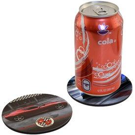 Round Cork Drink Coaster
