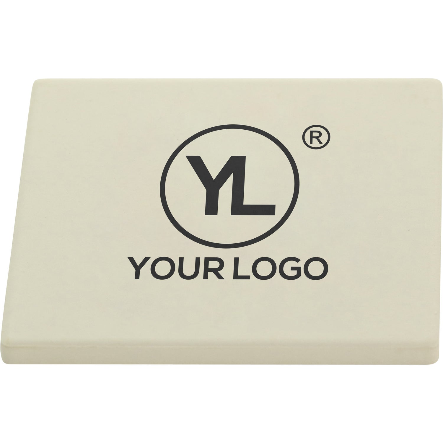 promotional square absorbent stone coasters with custom logo for 1 26 ea