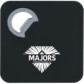 "Square Coaster with Bottle Opener (3.3125"" x 3.3125"")"