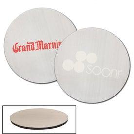 Stainless Steel Round Beverage Coaster
