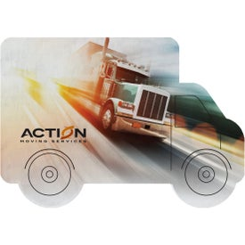 "Truck Shaped Coaster (6"" x 4"")"