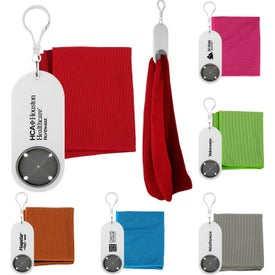 Cooling Cloth Keychain Holders
