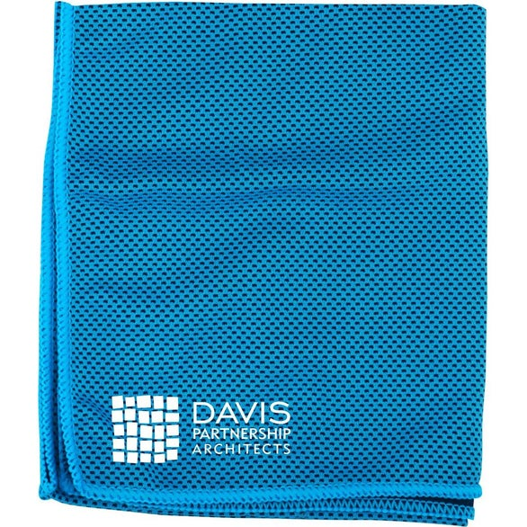 Blue Cooling Dry Cloth