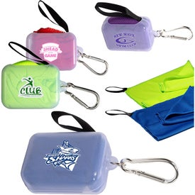 Cooling Towel in Case with Carabiner