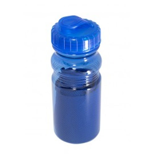 Blue Cooling Towel in Water Bottle