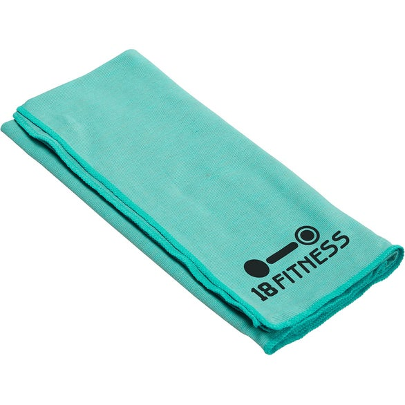 Teal Eclipse Copper-Infused Cooling Towel