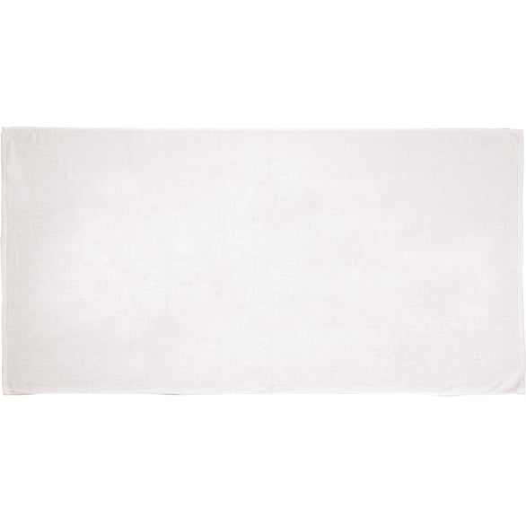 White Jewel Collection Beach Towel