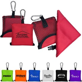 Pocket Sports Towel in Pouch