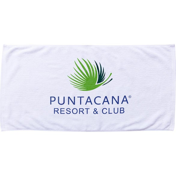 White Resort Beach Towel