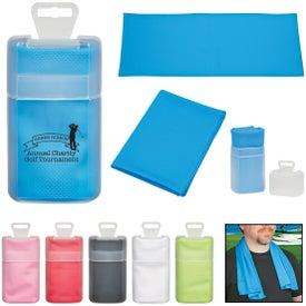 Sport Towel in Plastic Case