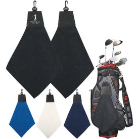 Triangle Fold Golf Towels