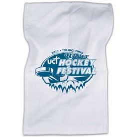"White Rally Towel (20"")"