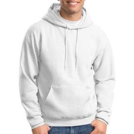 Hanes Ecosmart Pullover Hooded Sweatshirt (White)