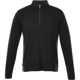 Stratton Knit Quarter Zip Jackets by TRIMARK (Men''s)