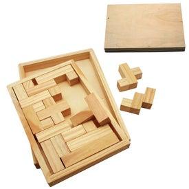Wood Shapes Challenge Puzzle