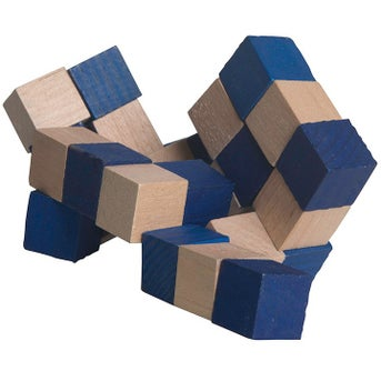 Save Big On Wooden Elastic Cube Puzzles Printed With Your Logo Only
