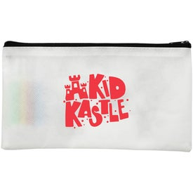 Pencil Case with Markers