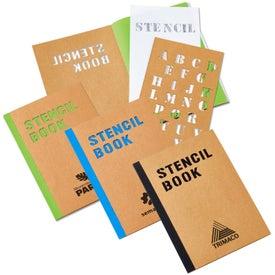 "Stencil Book (5 3/4"" x 8 1/4"")"
