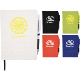 Geo Notebooks with Pen (40 Sheets)