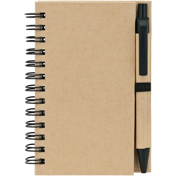 Tan / Black Baffin Bay Notebook and Pen