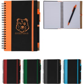 Color Underlay Spiral Notebook (40 Sheets)