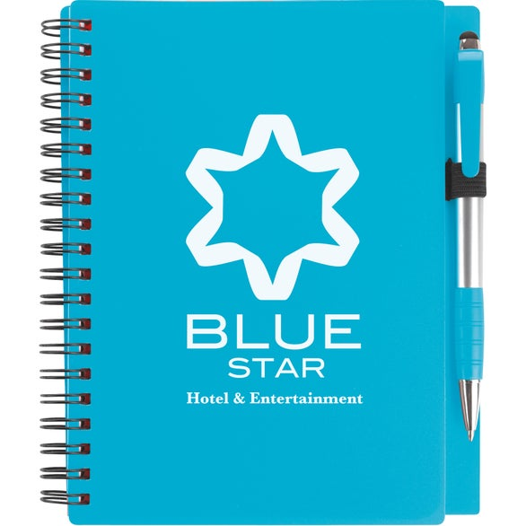 Turquoise Combo Notebook with Element Stylus Pen