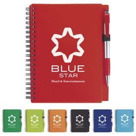 Combo Notebook with Element Stylus Pen (70 Sheets)