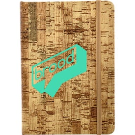 Cork Bound Notebook (80 Sheets)
