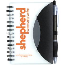 Cupertino Stylish Spiral Notepad Notebook